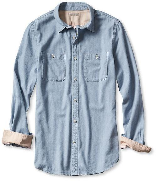 Banana Republic Heritage Denim Utility Shirt