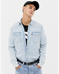 fb11e30fe7d Levi s Big Tall Classic Western Denim Shirt In Core Red Cast Rinse Wash Out  of stock · Levi s Barstow Western Denim Shirt In Light Wash