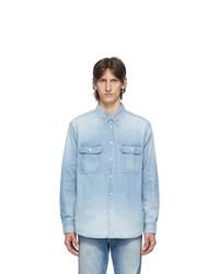 VISVIM Blue Damaged Handyman Shirt