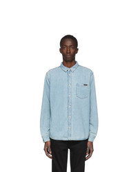 Nudie Jeans Blue Denim Albert Shirt