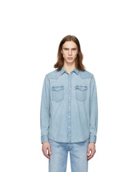 Levis Blue Denim Bartsow Western Shirt