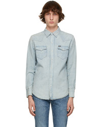 Polo Ralph Lauren Blue Denim Chambray Shirt
