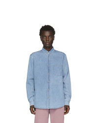 Nanushka Blue Denim Kaleb Shirt