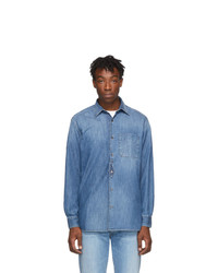 Golden Goose Blue Denim Kei Shirt