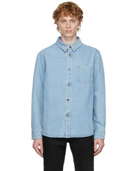 A.P.C. Blue Denim Victor Shirt
