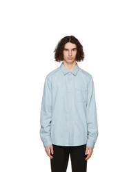 Frame Blue Lightweight Denim Shirt