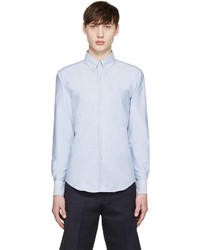Blue oxford regular shirt medium 596212
