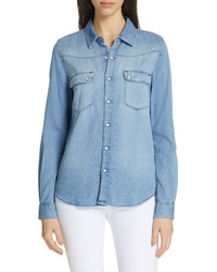 BA&SH Bridget Denim Shirt