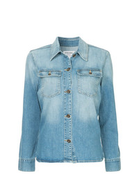 Frame Denim Button Denim Shirt