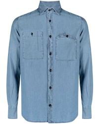 Glanshirt Button Up Denim Shirt