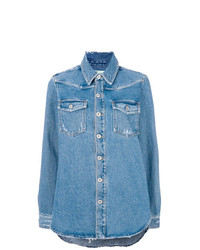 Casual denim shirt medium 7784203