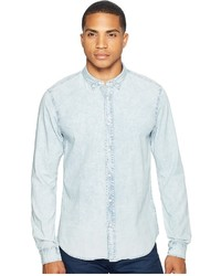 Scotch & Soda Classic Denim Shirt In Cotton Quality Clothing