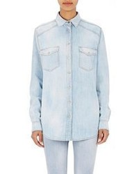 Givenchy Denim Shirt Blue