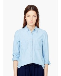 Mango Outlet Denim Shirt