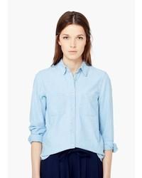 Mango Outlet Denim Shirt
