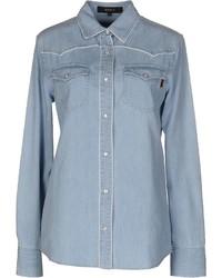 Gucci Denim Shirts
