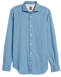 Eleventy Denim Sport Shirt