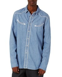 Denim western shirt medium 4342795