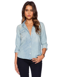 Capulet Distressed Denim Shirt