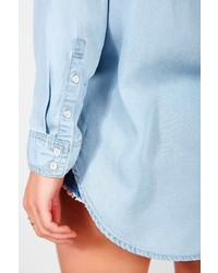 1aa90cfbe BDG Drapey Chambray Button Down Shirt, $59 | Urban Outfitters ...