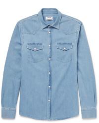 Acne Studios Ewing Denim Western Shirt