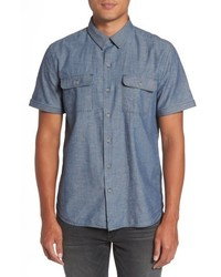 Flynn lightweight denim shirt medium 5147228
