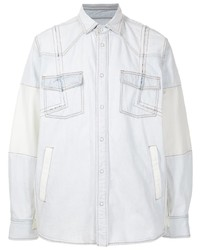 Sacai Four Pocket Cotton Denim Shirt
