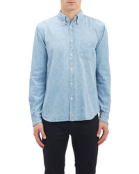 Steven Alan Geo Square Denim Shirt