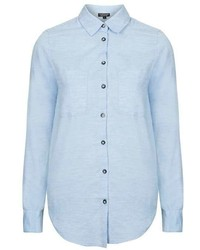 Herringbone Chambray Shirt