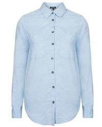 Herringbone Chambray Shirt