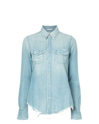 Mother Honey Chew Denim Shirt