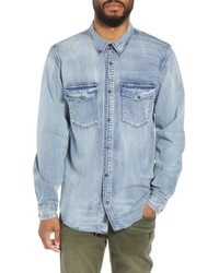 Hudson Jeans Hudson Regular Fit Denim Shirt