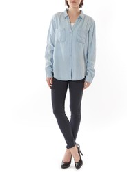 J Harper Soft Denim Style Shirt