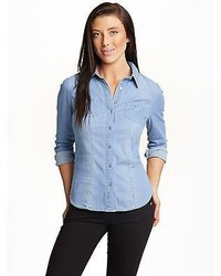 GUESS Jane Denim Shirt