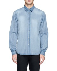 Nobrand Jeffrey Bleach Denim Shirt