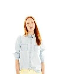 Joe Fresh Button Front Denim Shirt