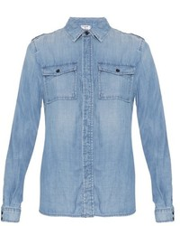 Frame Le Military Denim Shirt