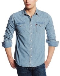 Levi's Standard Barstow Denim Western Snap Up Shirt