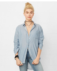 Denim & Supply Ralph Lauren Long Sleeve Boyfriend Shirt