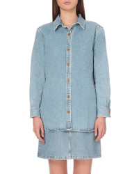 MiH Jeans Loose Denim Longline Shirt