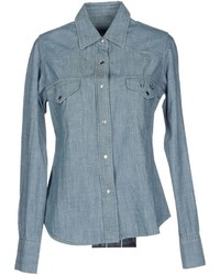 Lucien Pellat-Finet Denim Shirts