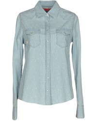 Manila Grace Denim Denim Shirts