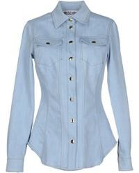 Moschino Couture Denim Shirts