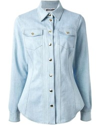 Moschino Slim Fit Denim Shirt