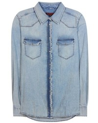 7 For All Mankind New Western Denim Shirt