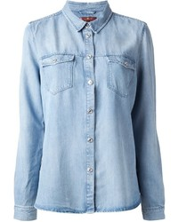 7 For All Mankind Oll Denim Shirt