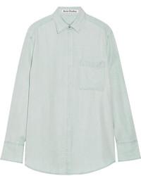 Acne Studios Oversized Washed Poplin Shirt