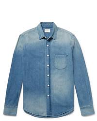 Simon Miller Slim Fit Washed Denim Shirt