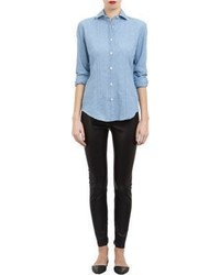 Salvatore Piccolo Spread Collar Shirt