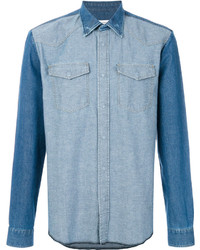 Tonal denim shirt medium 4345224